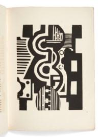 MALRAUX (A.) – LÉGER (F.). Lunes en papier. Paris, Galerie Simon, [avril 1921], in-4°, broché, couverture d'éditeur.